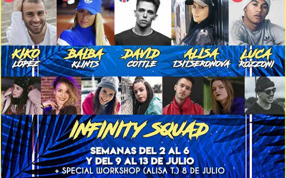 ¡INSCRIPCIONES ABIERTAS! INFINITY SUMMER DANCE INTENSIVE